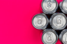 Silver Metal Energy Drinks Can...