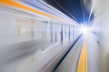 Blur Hi Speed Subway Undergrou...