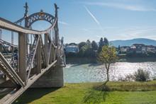 Salzachbrücke In Laufen