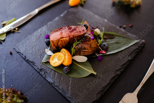 exotic thailand cuisine meal recipe concept. delicious gourmet food. national kitchen.