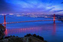 Dernier Rayon De Lumière Sur San Francisco