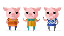 Three Little Pigs Fantasy Tale