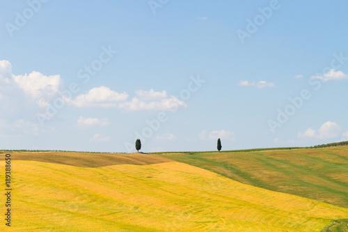 Tuscany hills landscape, Italy