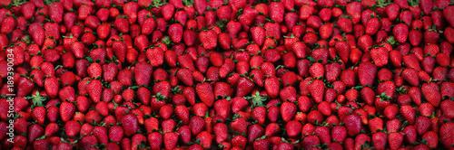 Fotografía  Fresh strawberries background