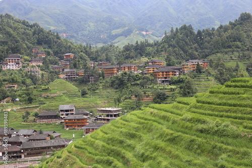 Foto auf Gartenposter Reisfelder thailand