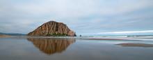 Morro Rock At Early Morning Su...