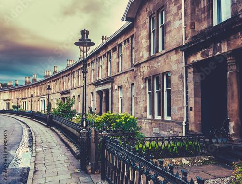 Poster  Elegant Edwardian Terrace Houses