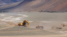 Road Construction In Mongolia ...