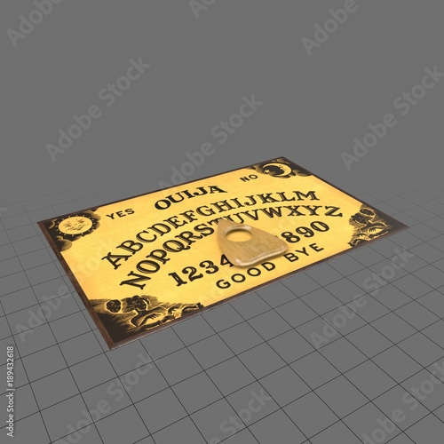 Ouija Board Buy This Stock 3d Asset And Explore Similar Assets At
