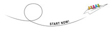START NOW! – A Group Of Peop...