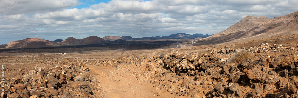 Nature trail, Lanzarote, Canary Islands