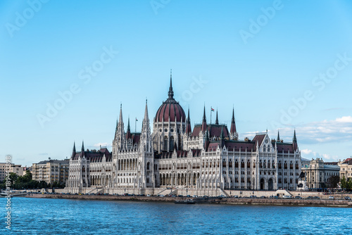 Fotografía  Cityscape of Budapest with Parliament building