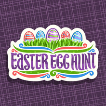 Vector Logo For Easter Holiday...
