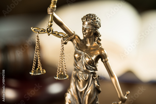 Fotografia  Law and Justice concept