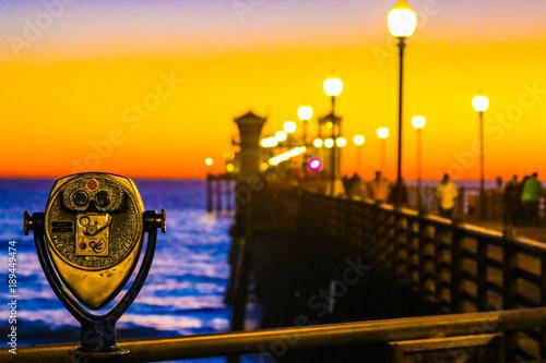 Oceanside Pier At Sunset Fototapeta