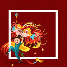Chinese Lunar New Year Lion Da...
