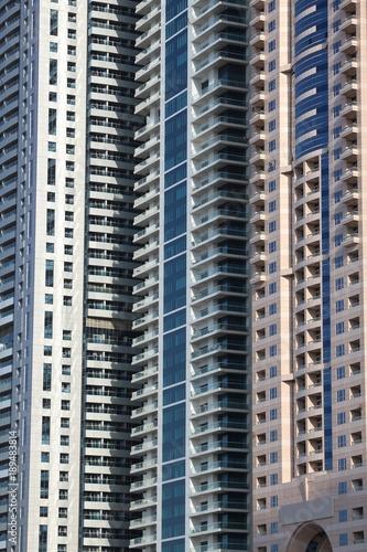 Photo  Dubai residential skyscrapers