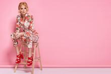 Fashion Photo Of A Beautiful E...
