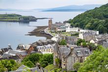 The Skyline Of Oban, Argyll In...