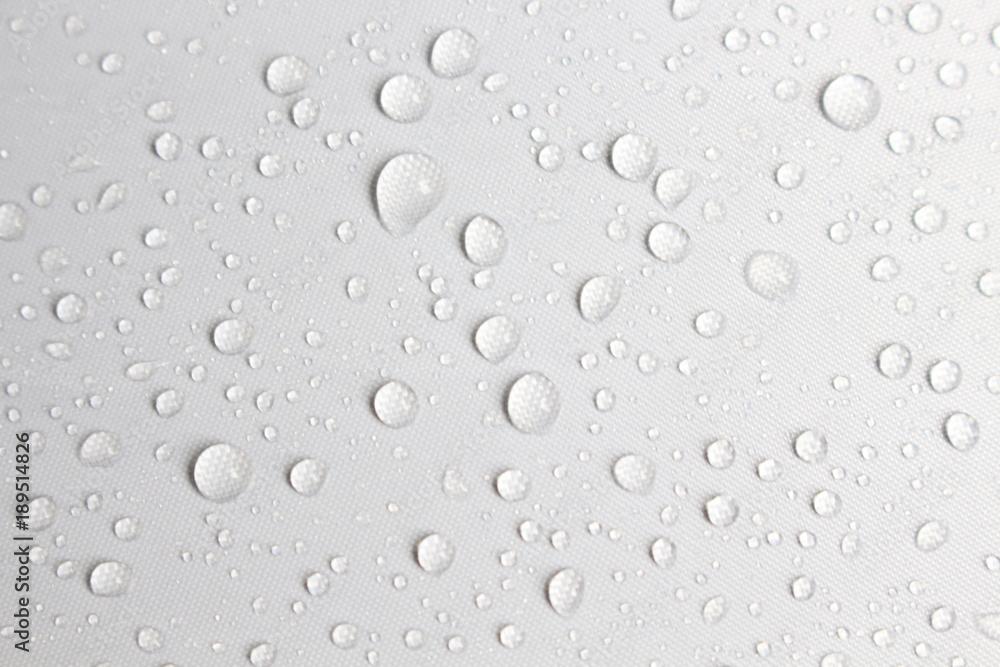 Fototapeta rain day drop water concept white background