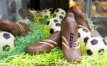 Chocolate Football Boots Or So...
