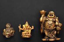 A Little Statuette Symbolizes Prosperity And Money