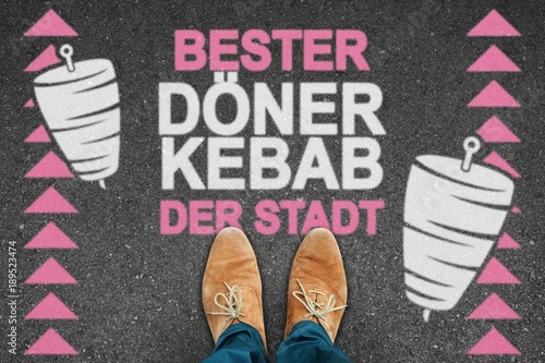 Obraz na plátně  th s bester döner kebab der stadt I