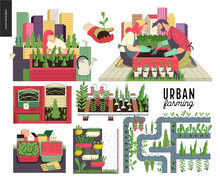 Urban Farming, Gardening Or Ag...