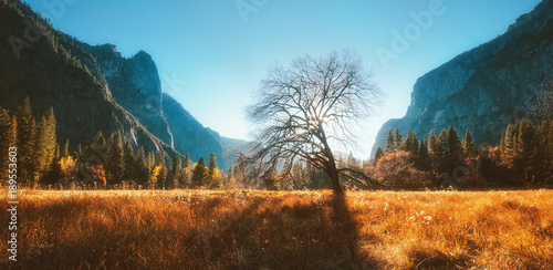 Photo  Yosemite Valley in Autumn