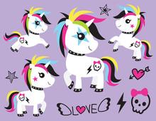 Vector Illustration Of Cute Pu...