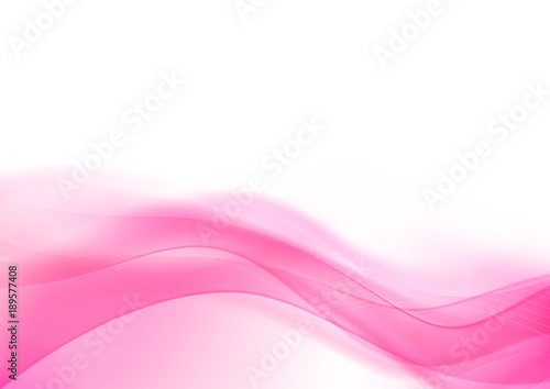 Photo  Curve and blend light pink abstract background 006