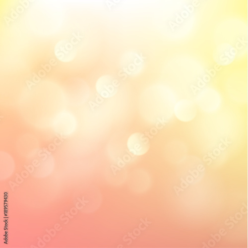 Foto op Aluminium Oranje Festive background with defocused lights