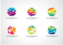 Colorful Abstract Logo Templat...