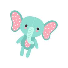 Cute Soft Baby Elephant Plush ...