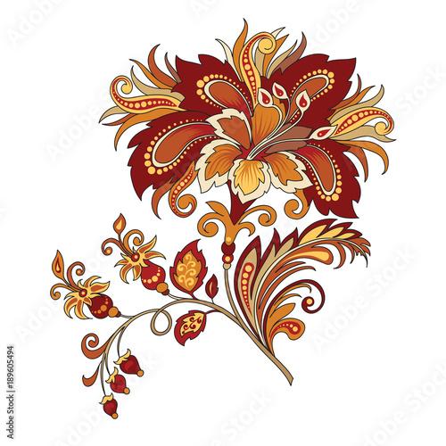 abstract red flower © pushenko