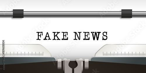 Fake news - infos - information - mensonge - fake news - mentir - faux - interne Fototapeta
