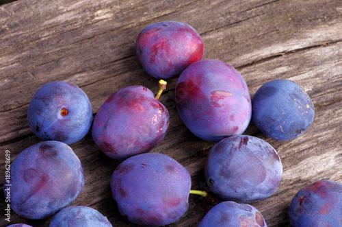 plum, fruit, farm product, fresh, natural, farm, violet, elastic