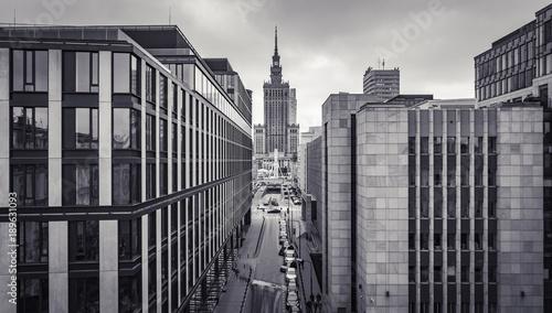 Obraz Architektura Warszawy - fototapety do salonu