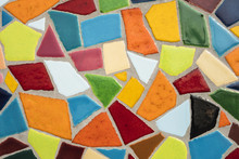 Detail Of A Multicolored Glass...