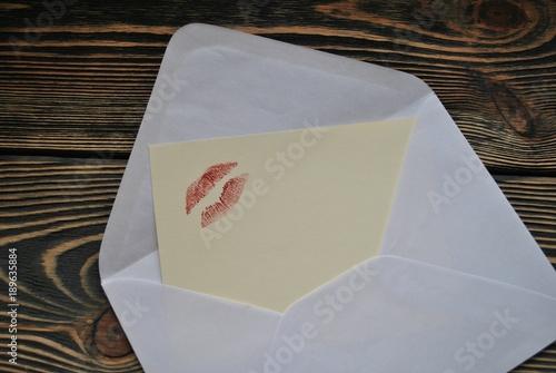 Fototapeta List miłosny