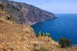 Madeira island mountain sea view, Portugal
