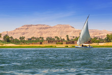 Falukas Sailboat On The Nile R...