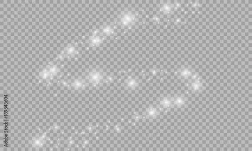 Fotografía Vector sparkling falling star