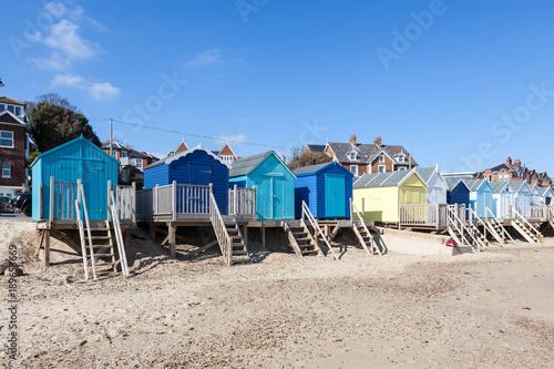Fotomural Beach huts
