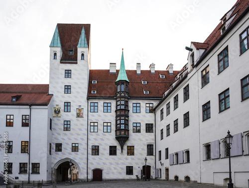 Deurstickers Brugge München - Alter Hof