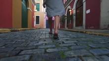 Beautiful Slow Motion Of Woman...
