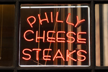 Philly Cheese Steak Sign