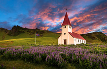 Beautiful Icelandic Chruch