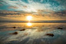 California Winter Sunset