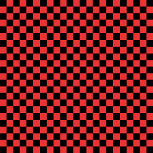 Black And Red Checkered Backgr...